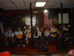 Ithaca College guitar studio performance at Dryden Community Cafe