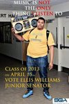 Ellis Williams Class of 2013 Senator Candidate