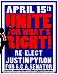 Justin Pyron Class of 2014 Senator Candidate