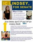 Lindsey Smith Class of 2014 Senator Candidate