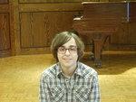 Photo of guitar student Alec Koone