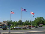 Flags at Onondaga