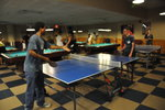 students playing ping-pong