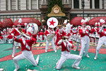 Marching Band in front of Macy's