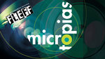 microtopias logo and art