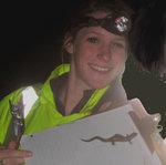 Kate_finds_a_Jefferson's_salamander
