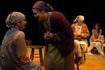 Dancing at Lughnasa was staged in the round on a set designed by Stephanie Tucci '07