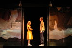 Elizabeth Pace '08 and Aaron Morris '07 as Young Violet and Billy Dean