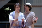 Dan Lawrence '06 as Orsino and Bryan Plofsky '08 as Valentine