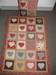 Heart Quilt & Pillow