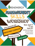 Management Skills Workshop Flyer