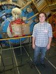 Casey Byrne (IC Physics '13) with FORCAST on SOFIA