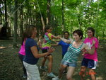 PCAs at the Cayuga Nature Center Ropes Course