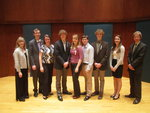 School of Music Student Inductees
