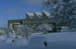 Dillingham Center in winter