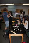 lab class constructing solar car