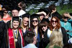English Majors Gather at Graduation