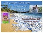 Aloha Friday hosted by Melcher lab