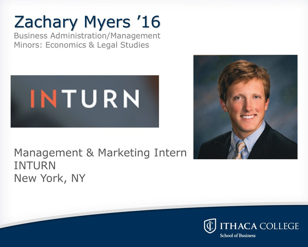 internship spotlight school of business college