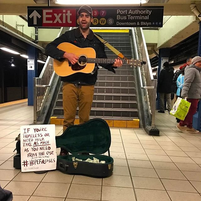 Ithaca College Alumnus Uses Music To Help Homeless