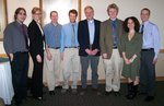 2007 student presenters and their faculty advisors