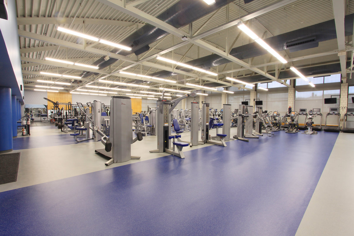 Fitness center office of recreational sports student