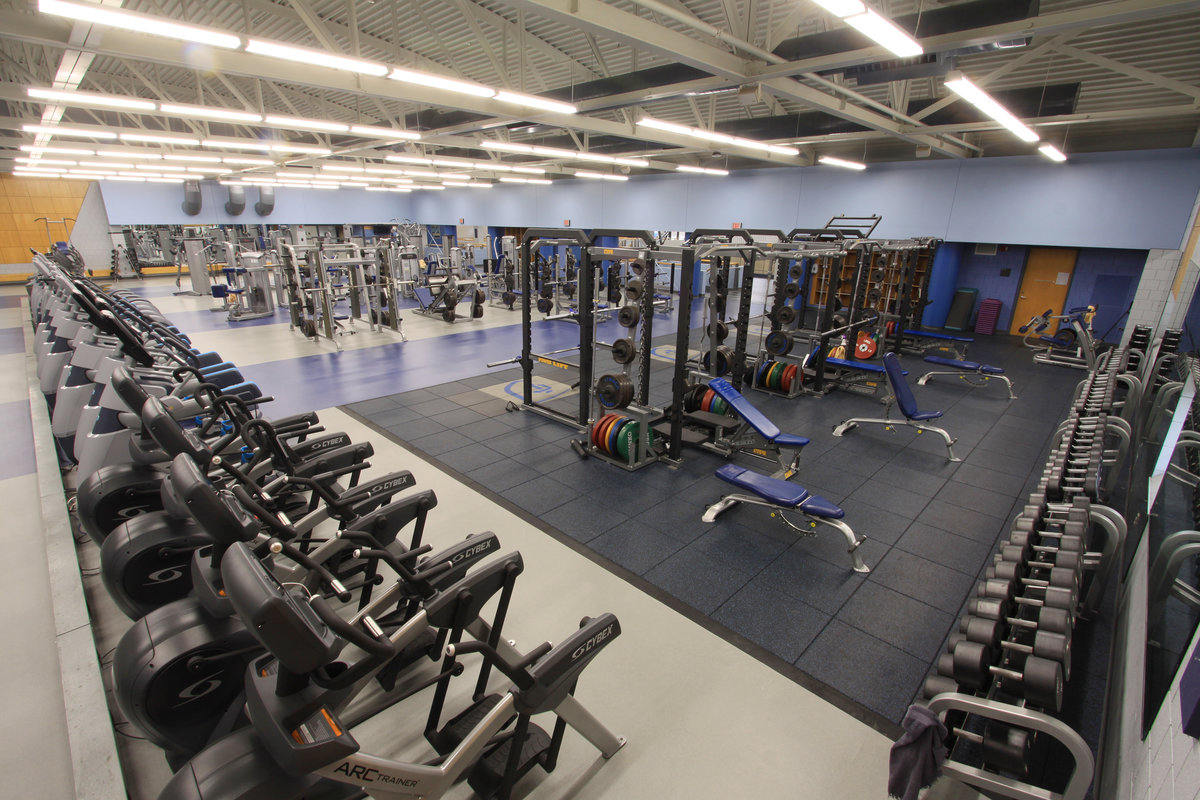 fitness center - office of recreational sports