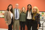 Picture of students with Memphis Historian Jimmy Ogle