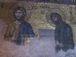 Jesus and John the Baptist mosaic
