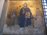 Mosaic - Christ, Empress Eirene