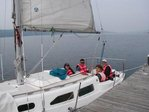 Sailing on Cayuga Lake