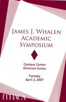 2007 Symposium program cover