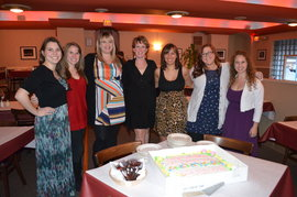 2011-2012 NSSLHA Officers at the Annual Banquet