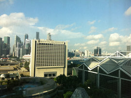 A beautiful day in Singapore!
