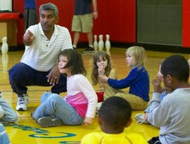 A school physical education class