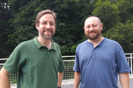 Aaron Weinberg and Matt Thomas.