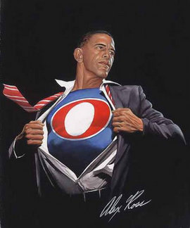 "Alex Ross, ""SuperObama,"" 2008 (http://www.artofobama.com)"