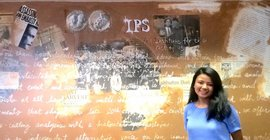 Angela Pradhan '18 at Institute for Policy Studies