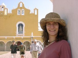 Associate Professor of Art History Jennifer Jolly in Mexico
