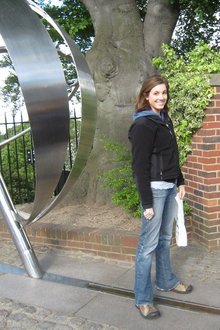At the Prime Meridian in Greenwich, London