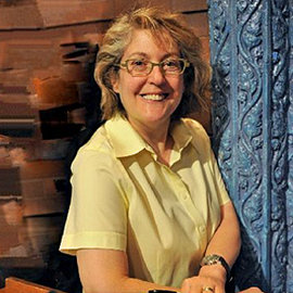 "Barbara Gaines '79, executive producer of the ""Late Show with David Letterman."" Photo courtesy of Barbara Gaines"