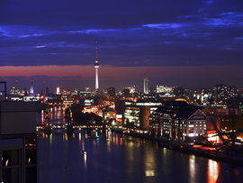 Berlin by night