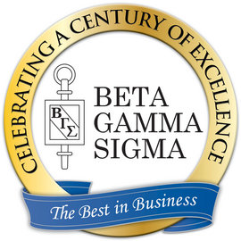 Beta Gamma Sigma Award Ceremony