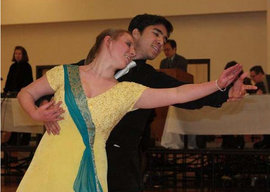 Beth Easton �12 and Ryan Jarvis �11 are members of the IC Ballroom Dance Team.
