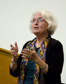 Betty Medsger Speaking at Ithaca College, September 2014