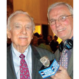 Bill Diehl with Walter Cronkite