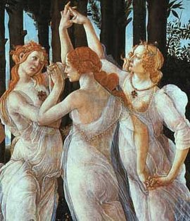 "Botticelli, ""The Three Graces"""