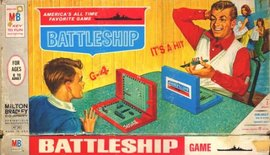 "Box Art for Milton Bradley's ""Battleship"" (1967)"