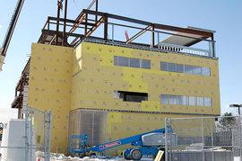 Business building in progress