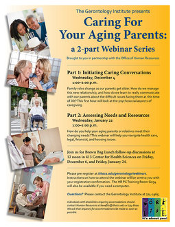 Caregiving Flyer
